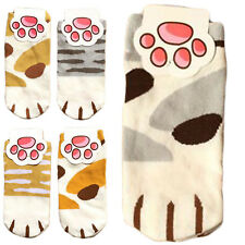 Lady Girls Summer Winter Cartoon Cute Cats Paw Kitty Claws Ankle Short Socks HI