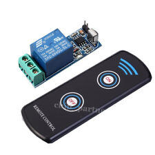 5V Infrared Sensor Relay Module + Super Thin Infrared 2-Key Remote Control Kit