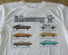 1978 Ford Mustang II Line Graphic T-shirt - Size Sm - 3XL - Sweet Summer Shirt