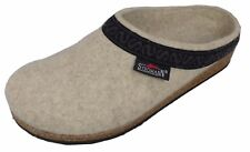 Stegmann Womens Wool Clog  - L108 Natural with Cork Sole