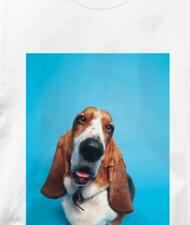 Basset Hound Portrait Dog T Shirt All Sizes & Colors