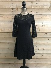 Marc New York  Andrew Marc Black Lace Dress