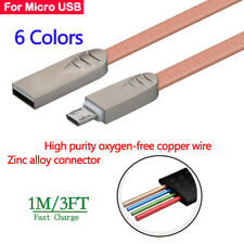 3FT Fast Charging Micro USB Adapter Data Sync Charger Cable Cord For Samsung Lot