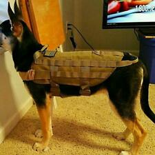 New Tactical Outdoor Military Hunting Dog Clothes Load Bearing Training Harness