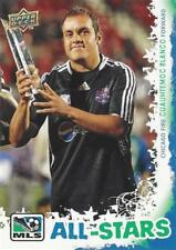 2009 Upper Deck Major League Soccer 'MLS All-Stars' Complete Set AS-1 to AS-16