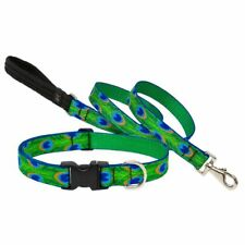 "NEW Lupine 1"", 3/4"" or 1/2"" Dog or Cat Collar, Harness or Leash in Tail Feathers"