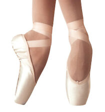 """Russian Pointe """"Polette Grande"""" Satin Pointe Shoes, Pink, Sizes 36-37.5, NWD"""