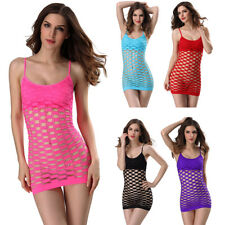 Sexy Fancy Mesh Dress sleep wear women Lace Lingerie Clothes intimate Lingere