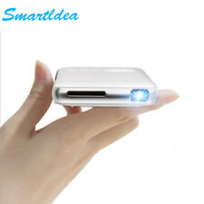 Handheld Mini LED Projector Android 4.4 WiFi Bluetooth Smart DLP 1080P Home