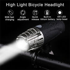 LED Cycling Bike Bicycle Front Head Light Flashlight Taillight Night Lamp Holder