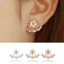 Earrings Crystal Stud Boucle d'oreille Femme Women Fashion Accessories a30