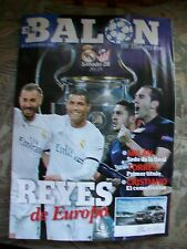 REAL MADRID v ATLETICO 28.5.2016 UEFA CHAMPIONS LEAGUE FINAL PROGRAMME