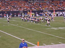 3 CLEVELAND BROWNS TICKETS BALTIMORE RAVENS SUNDAY 12/17 SEC 104 *7TH ROW* FIELD