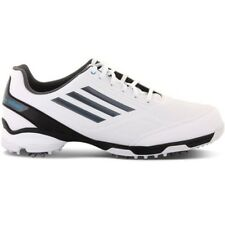 NEW MEN'S ADIDAS ADIZERO TR GOLF SHOES WHITE/BLACK/BLUE Q46702 - PICK YOUR SIZE