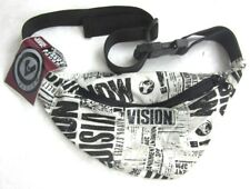 Vintage Authentic Vision Street Wear Fanny Pack Old School White Cotton W/ Tag