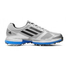 NEW MEN'S ADIDAS ADIZERO SPORT GOLF SHOES SILVER/BLUE 672247 - PICK YOUR SIZE