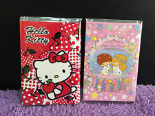 NEW Cute Little Twin Stars HELLO KITTY Post-it Sticky Note Memo Pad Floding Book