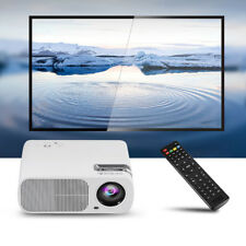 3D HD 1080P 1800LM Mini Projector LED Multimedia Home Theater VGA HDMI TV AV Lot