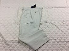 POLO RALPH LAUREN PANTS MENS CLASSIC PLEATED FIT LIGHT KHAKIS SIZE 34X30 NWT