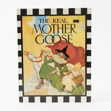 The Real Mother Goose Illustrated by Blanche Fisher Wright 63rd Hardcover 1975