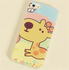 Muticolor Cartoon Cute Painted Phone Case Cover For Apple iPhone 4 4S 4G 5 5G 5S