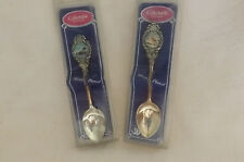 Maine Silver plated Spoon,Chickadee & Loon,Collectable Souvenir,NIP