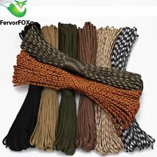 90 color Paracord 550 Parachute Cord Lanyard Rope Mil Spec Type III 7 Strand 100