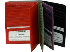 NEW Leather Credit card ID Business Cards Holder✻Storage caseLeather✻Cowhide