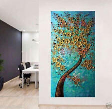 OIL PAINTING MODERN ABSTRACT HUGE WALL ART ON CANVAS (no framed)