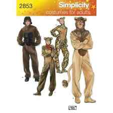 Simplicity Sewing Pattern 2853 Adult Costumes