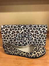 French Sole FS/NY Sloop - Leopard Suede