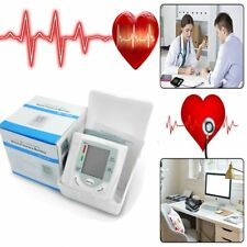 Automatic Digital LCD Display Wrist Blood Pressure Monitor Heart Beat Measure ST