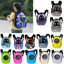 Pet Carrier Cat Kitty Backpack Windows Astronaut Capsule Design Carry Bag Travel