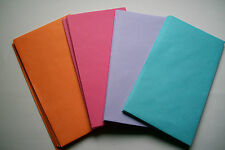 """Lot of 25 (Each Lot Has 4 Colors In It) Greeting Card Envelopes 4 1/2"""" x 8 1/4"""""""
