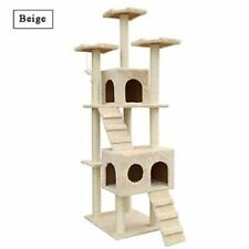 New Cat House Climbing Tower Condo Tree Scratching Post Furniture Cat Toy