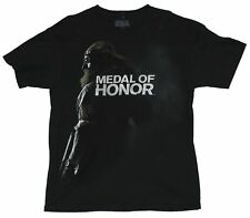 Medal of Honor (PS3, XBOX 360) Mens T-Shirt  - Bearded Solider in Shadow Image