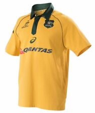 RUGBY Wallabies 2017 Mens Traditional Short Sleeve Jersey - Sizes  L only