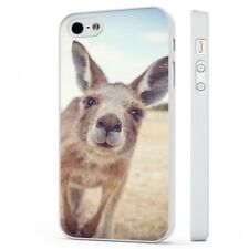 Kangaroo Funny Photograph Wild Nature WHITE PHONE CASE COVER fits iPHONE