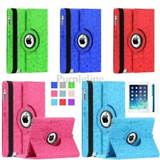 For Apple iPad 2 / 3 / 4 Cute Cartoon Smart Leather Folio Case Cover With Stand