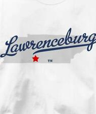 Lawrenceburg, Tennessee TN MAP Souvenir T Shirt All Sizes & Colors