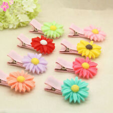 20pcs Cute Daisy Theme  Hair Clips For Girls Babies Kids hair accessories