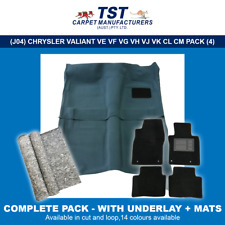 MOULDED CAR CARPETS (J04) CHRYSLER VALIANT VE VF VG VH VJ VK CL CM PACKAGE 4