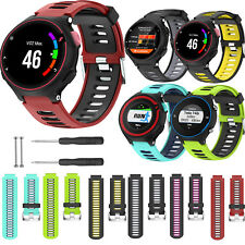 Silicone Wrist Band Watch Strap Bracelet for Garmin Forerunner 220/235/630/735TX