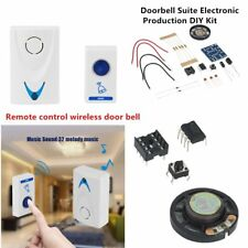 LED Wireless Chime Door Bell Doorbell & Wireles Remote control 32 Tune Songs OI