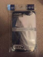 Mens JKY By Jockey Crew Neck T-Shirt Solid White Size Large (OPEN PACK)