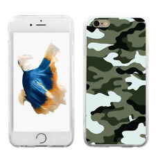 Camouflage Print Protect Case Cover for iPhone (10) Plus Samsung Galaxy  Pretty