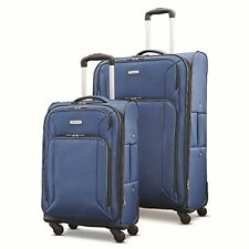 """Polyester fabric Spinner Rolling Wheel Suitcase Luggage Set 2-Piece (21""""/29"""")"""