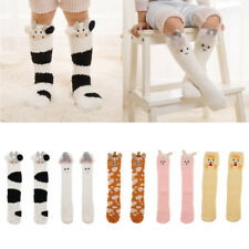 Baby Kids Toddler Girls Knee High Socks Tights Leg Warmer Stockings Winter Socks