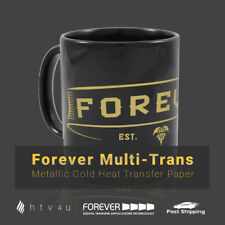 "Forever Multi-Trans (Metallic Gold) Heat Transfer Paper 8.5"" x 11"""
