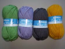 Patons Classic Wool Roving Yarn - 4 Color Choices - Bulky Weight - New